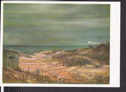 """Postkarte """" Das Bild Des Krieges """" , Ausstellung Luftgaukommando VI. , """" Verlassener Englischer Bunker  Kanalküste """" - Guerra 1939-45"""