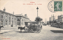 NARBONNE - La Gare - Attalage - Calèche - Narbonne