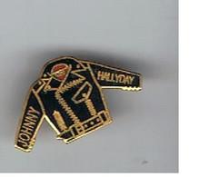 Pin S Johnny Hallyday - Personaggi Celebri