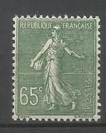 Timbre France En Neuf ** N 234 - 1903-60 Semeuse A Righe