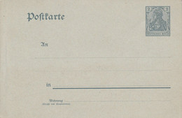 ALLEMAGNE EMPIRE ENTIER CARTE NEUF 2 PFG - Covers & Documents