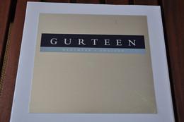 Plaque De Revendeur 'Gurteen - Menswear - England' - Plaques émaillées (après 1960)