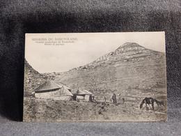 Lesotho Basutoland Huttes Et Paysage__(9832) - Lesotho