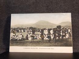 Mozambique Lorenzo Marques Eingeborene Beim Tanz__(13500) - Mozambique