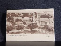 Nigeria Lagos Roman Catholic Mission Quarters__(12865) - Nigeria