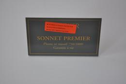 Plaque En Métal Revendeur 'Parker - Sonnet Premier' - Plaques émaillées (après 1960)