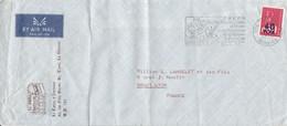 REUNION LETTRE DE SAINT DENIS POUR LA FRANCE 1975 - Covers & Documents