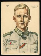 AK 2, WK , W. Willrich Obergefreiter Brinkforth - Volksbund Für Das Deutschtum Im Ausland - Guerra 1939-45