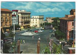10.548 - ROCCA DI PAPA ROMA PIAZZA DELLA REPUBBLICA ANIMATISSIMA AUTO CAR 1970 CIRCA - Altre Città