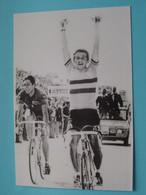 Freddy MAERTENS WK 1976 Te Ostuni > WIELRENNER - COUREUR ( Geplastificeerde Foto >> Zie/voir Scans ) ! - Sport