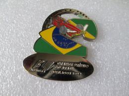 TOP PIN'S FORMULE 1 GRAND PRIX DU  BRESIL   INTERLAGOS  1997 BUENOS AIRES Zamak - F1