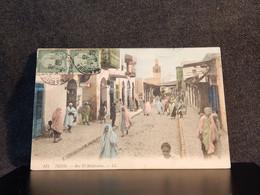 Tunisia Tunis Rue El-Halfaouine -08__(13728) - Tunisie