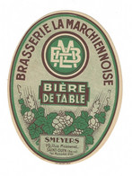 Etiquette De Bière : Brasserie La Marchiennoise, Smeyers, Saint Ouen - Beer