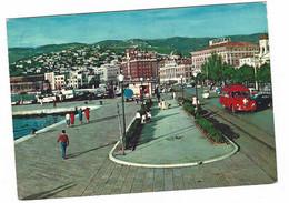 10.564 - TRIESTE PASSEGGIATA A MARE 1964 ANIMATA AUTO CAR - Trieste