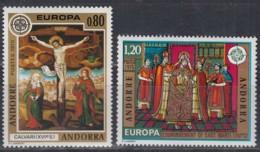 ANDORRA Franz. 264-265, Postfrisch **, Europa CEPT 1975, Gemälde - 1975