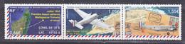 TAAF 714/716 Liaison Aérienne Madagascar Tromelin 2014 Neuf ** TB MNH Sin Charnela Faciale 3.26 - Unused Stamps