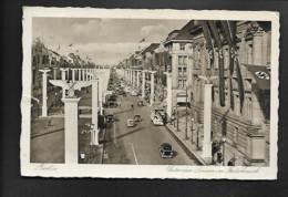 DR Ak Berlin Hakenkreuz-Festschmuck Unter Den Linden - Guerra 1939-45