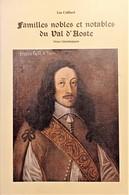 L. Colliard - Familles Nobles Et Notables Du Val D'Aoste - Ed. 1984 - Altri