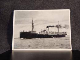 Steamer Postdampfer La Coruna Vigo__(12506) - Piroscafi