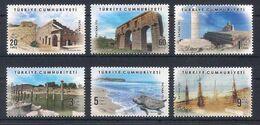 TURKEY [2020] Patara; Archeology; Tourism - Set Of 6 Stamps (MNH) - Archeologia