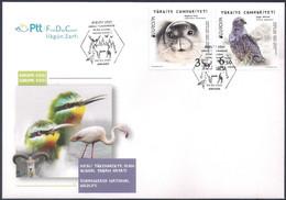 Turkey [EUROPA 2021] Endangered National Wildlife - FDC - Sammlungen