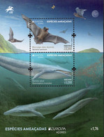 CEPT / Europa 2021 Açores ** Animaux, Espèces Menacés - Chauves-souris, Baleines - Andere