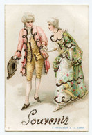 L'invitation à La Danse. Marquis, Marquise . Costumes Richement Décoré De Paillettes De Couleur - Koppels