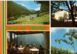 SALUTI DAL RIFUGIO CRUCOLO - VAL CAMPELLE - DA GIORGIA (TN) - Trento