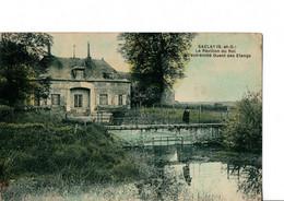 SACLAY  (S.-et-O.). - Le Pavillon Du Roi. A L'extrémité Ouest Des Etangs.  RARE.  Voir SCANS Recto-verso - Saclay