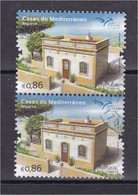 Portugal 2018 Casas Del Mediterráneo Mediterrâneo Algarve Houses Of The Mediterranean Faro Architecture Arquitetura Casa - Used Stamps