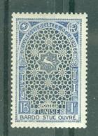 TUNISIE - N° 354** MNH  LUXE SCAN DU VERSO - Ongebruikt