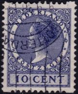 ✔️ Nederland 1930 - Tweezijdige Hoekroltanding - NVPH R66 (o)  - €9 - Carnets Et Roulettes