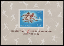 Ungarn 1966 - Mi-Nr. Block 54 B ** - MNH - Sport - Nuovi