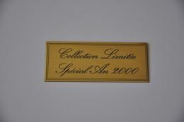 Plaque 'Collection Limitée Spécial An 2000' - Plaques émaillées (après 1960)