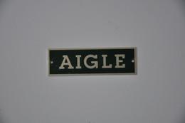 Plaque 'Aigle' - Plaques émaillées (après 1960)