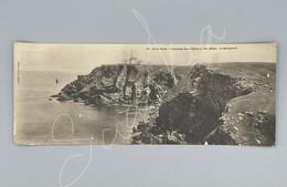 #CPA.594 - Ile De Groix Panorama De La Pointe De Bec Melen Le Sémaphore - Grande Carte - Groix