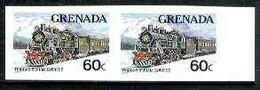 Grenada 1982 Famous Trains 60c Trans-Siberian Express U/m Imperf Pair, As SG 1213 - Grenada (1974-...)