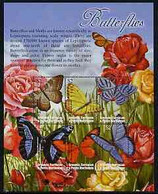 Grenada - Grenadines 2002 Flora & Fauna Perf Composite Sheetlet 6 Values (Butterflies), Signed By Thomas C Wood The Desi - Grenada (1974-...)