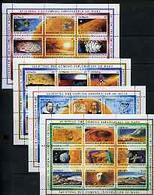 Grenada 1990 Exploration Of Mars Perf Set Of 36 (4 Sheetlets Of 9) U/m, SG 2262-97 - Grenada (1974-...)