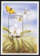 Grenada - Grenadines 1997 Orchids Perf M/sheet ($5 As SG  MS2474) Signed By Thomas C Wood The Designer, U/m - Grenada (1974-...)