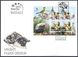 Hungary [EUROPA 2021] Endangered National Wildlife - FDC - Sammlungen