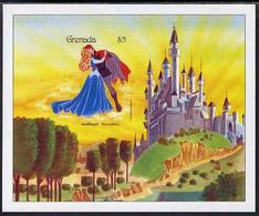 Grenada 1987 Disney's Sleeping Beauty M/sheet Imperf From A Limited Printing, U/m SG MS 1707a - Grenada (1974-...)