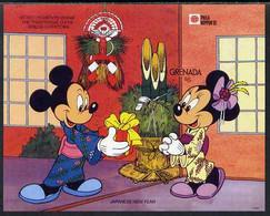Grenada 1991 Philanippon Disney M/sheet (Minnie In Kimono) Imperf From A Limited Printing, U/m SG MS 2239a - Grenada (1974-...)