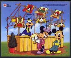 Grenada 1991 Philanippon Disney M/sheet (Goofy) Imperf From A Limited Printing, U/m SG MS 2239c - Grenada (1974-...)