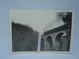 P.O.C Locomotive à Vapeur Sur Le Viaduc De Chaunac Film N°117 Photo N°9 - Treni