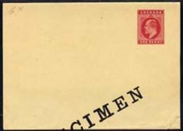 Grenada 1905c KEVll 1d Red Postal Stationery Wrapper Unused & Overprinted SPECIMEN - Grenada (1974-...)