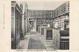 Thiers. 63 (4730) Château De Barante - Bibliothèque. - Thiers