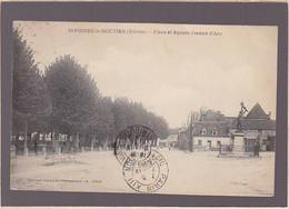 Nievre / Saint Pierre Le Moutier, Place Et Statue De Jeanne D'arc - Saint Pierre Le Moutier