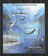 2014 - F 2931 **MNH - Musée Océanographique, Les Requins - Ungebraucht