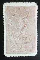 Art Nouveau Delettrez Paris Myrtis Savon Poudre Riz Jolie Carte Parfum - Vintage (until 1960)